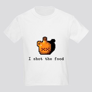 I shot the food Kids Light T-Shirt