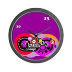 Mad About Amsterdam Wall Clock