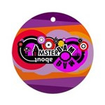 Mad About Amsterdam Ornament (Round)