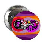 """Mad About Amsterdam 2.25"""" Button"""