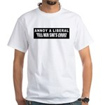 Cruel Liberal Women White T-Shirt