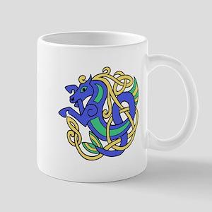 Celtic Hippocampus 1 Mug