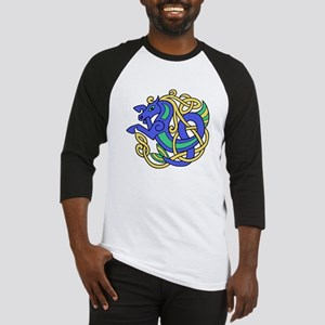 Celtic Hippocampus 1 Baseball Jersey