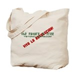 the future is free Tote Bag