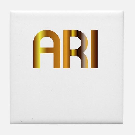 Ari is My Agent Tile Coaster