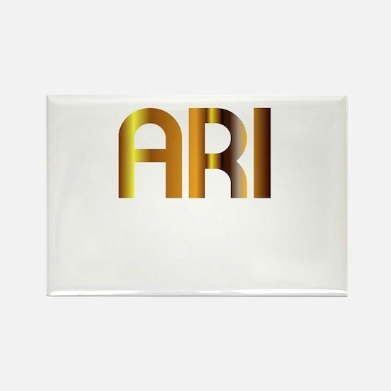 Ari is My Agent Rectangle Magnet