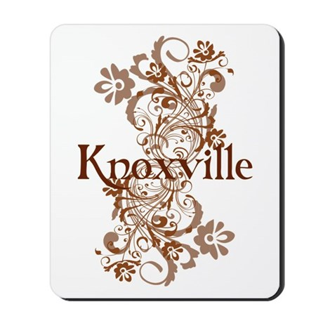 Knoxville Swirls Mousepad