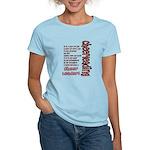 Become a Cheerleader Women's Light T-Shirt