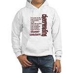 Become a Cheerleader Hooded Sweatshirt