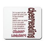 Become a Cheerleader Mousepad