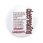 "Become a Cheerleader 3.5"" Button"