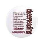 """Become a Cheerleader 3.5"""" Button (100 pack)"""