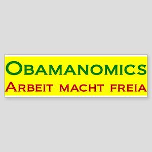 Obamanomics Work Makes Free Bumper Sticker