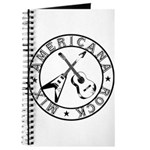 Crossed Guitars Logo Journal