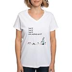 I see it! Women's V-Neck T-Shirt