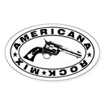 Six Shooter Stickers (Oval 10 pk)