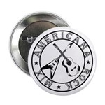 """Crossed Guitars - 2.25"""" Button (10 pack)"""