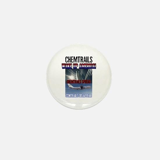 Chemtrails Mini Button
