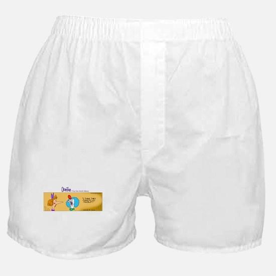 Funny Plastic surgery Boxer Shorts
