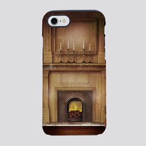 Classic Fireplace iPhone 7 Tough Case