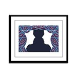 Twin Patriots Framed Panel Print