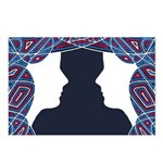 Twin Patriots Postcards (Package of 8)