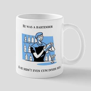 """He was a Bartender"" The Hang Mug"
