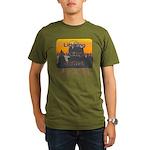 Littering kicks buttes! Organic Men's T-Shirt (dar