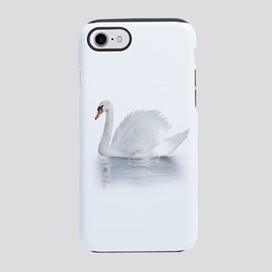 White Swan iPhone 7 Tough Case