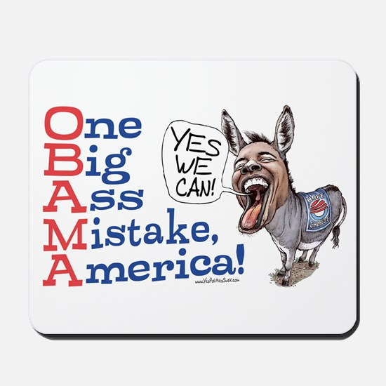 One Big Ass Mistake America Mousepad