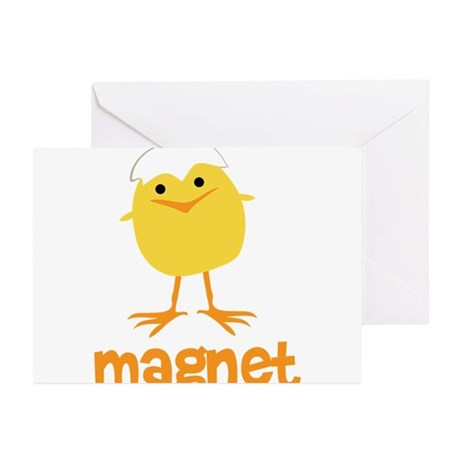 Chick Magnet Greeting Cards (Pk of 20)