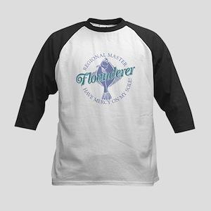 Flounderer Kids Baseball Jersey