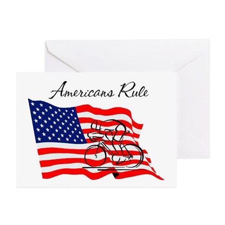 Americans Rule 03 Greeting Cards (Pk of 10)