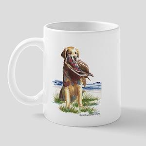Hunt Golden Retriever Mug