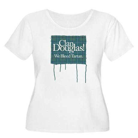 Bleeding Douglas Women's Plus Size Scoop Neck T-Sh