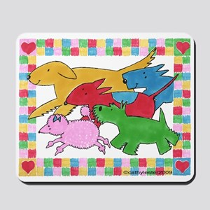 Herd 'o Dogs Mousepad