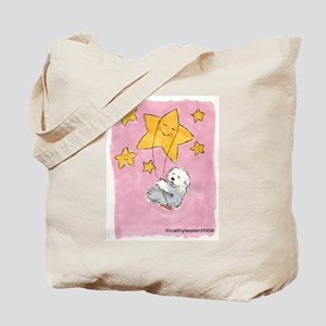 Old English Sheepdog Star Tote Bag