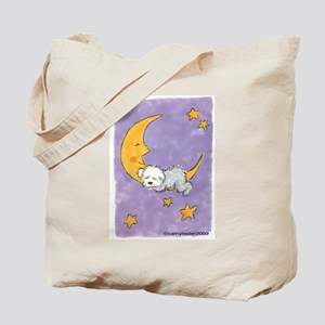 Baby puppy naps Tote Bag
