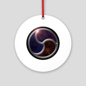 dVs BDSM Emblem Ornament (Round)