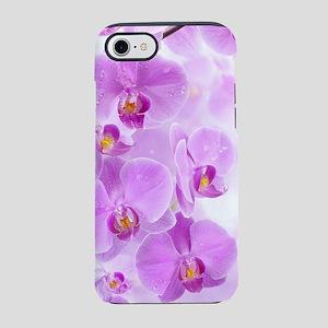Purple Orchids iPhone 7 Tough Case