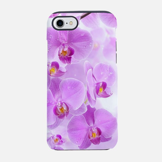 Purple Orchids iPhone 7 Tough Case