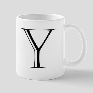 Letter Y Mugs