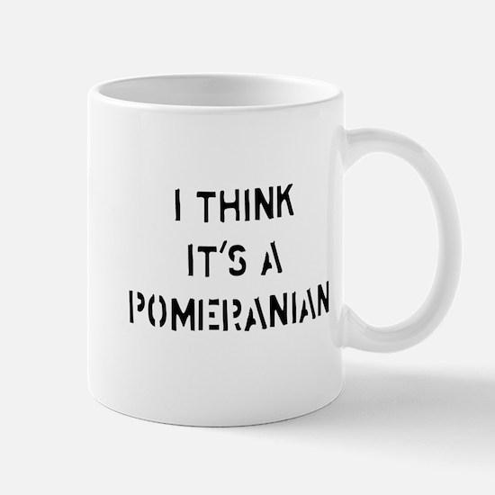 I think it's a Pomeranian Mug