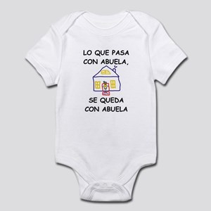 Con Abuela Infant Bodysuit