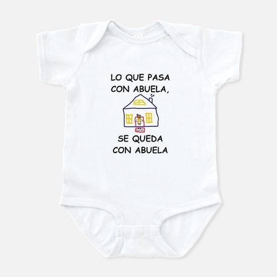 Spanish baby clothes cafepress con abuela infant bodysuit negle Images