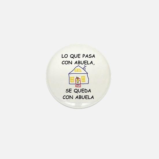 Con Abuela Mini Button