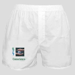 Social Conscience Boxer Shorts