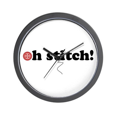 oh stitch! Wall Clock