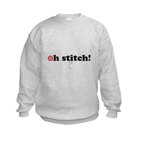 oh stitch! Kids Sweatshirt
