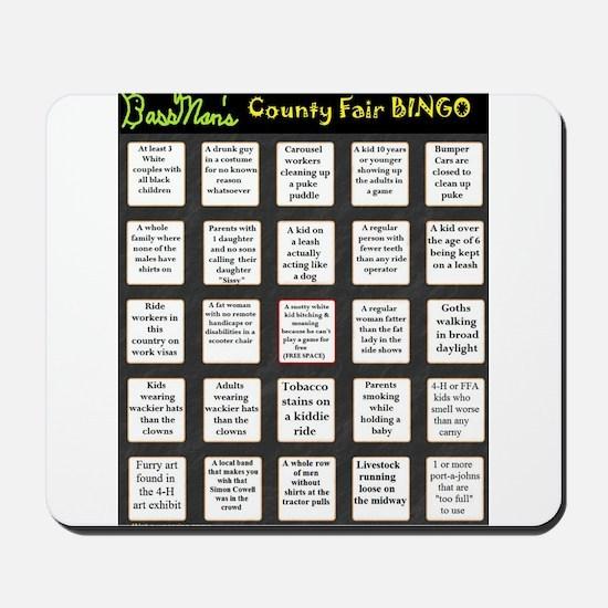 County Fair BINGO Mousepad